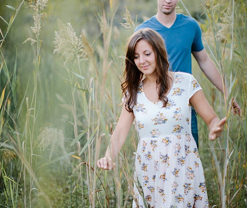 Austin + Jessica, engaged | Bloomington, IL