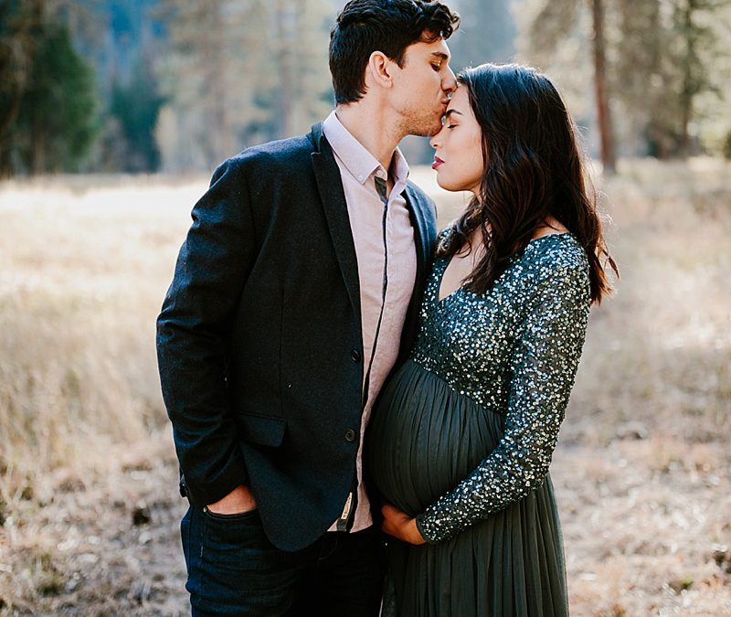 Aaron + Alora | Yosemite Maternity Session